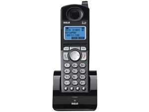 25055RE1 DECT 60 Cordless 2Line Handset Accessory for  2Line Base Station Handset Does Not Work IndependentlyBlack