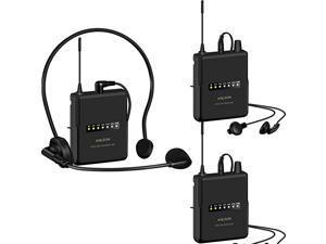 MTG200 Wireless Tour Guide Language Interpretation System 915Mhz 2 Receivers