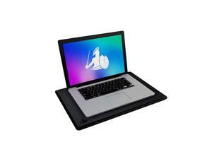 Laptop EMF Radiation Heat Shield 5G Blocker AntiRadiation Notebook Computer Lap Pad Lapdesk Compatible with up to 17 Laptop Chromebook MacBook Black