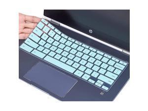 """Cover for HP x360 14"""" Chromebook, Chromebook X360 14a, HP Chromebook 14-DA 14B-CA 14a-na 14-db 14-ca 14-ak and HP Chromebook 14 G2 G3 G4 G5, Chromebook 14 Skin, Mint Green"""