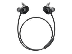 SoundSport, Wireless Earbuds, (Sweatproof Bluetooth Headphones for Running and Sports), Black