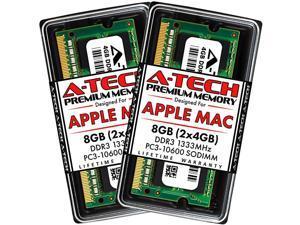 8GB Kit 2x4GB DDR3 1333MHz SODIMM PC310600 RAM for Apple MacBook Pro EarlyLate 2011 iMac Mid 2010 MidLate 2011 Mac Mini Mid 2011