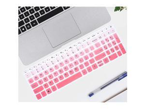 """Keyboard Covers Compatible with 15.6"""" Lenovo ideapad 320 330 330s 520 720s 130 S145 L340 S340,17.3"""" Lenovo ideapad 320 330,Lenovo 15.6"""" AMD Radeon A12-9720P Keyboard Covers (Ombre Pink)"""