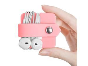 Cord Organizer Earbuds Holder Earphone Wrap Earphones Organizer Headset Headphone Earphone Wrap Winder Cord Manager Cable Winder Set of 2
