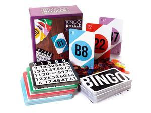 Royale Bundle   Complete Set with 1000 Chips 100 Cards and Jumbo Deck of Calling Cards   AllInclusive Kit for Schools Rec Centers Senior Homes Charity Events and Large Group Games
