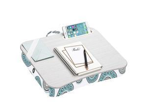 LapGear Designer  with Phone Holder and Device Ledge Medallion Fits up to 156 Inch Laptops Style No 45425