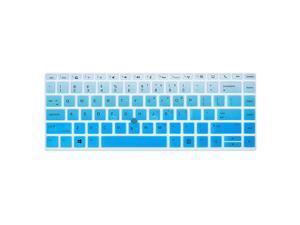 14 Elitebook Keyboard Cover Skins Compatible 14 Zbook 14U G5 wm 14 Elitebook 840 G5nr 14 Elitebook 745 G514in Laptop Cover Ombre Blue