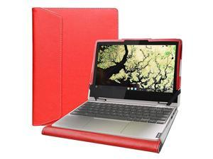 """Protective Case Cover for 11.6"""" Lenovo Chromebook C340 C340-11/Lenovo Chromebook Flex 3i/Lenovo IdeaPad Flex 3 11IGL05 Laptop[Not fit Lenovo Chromebook C340-15/Chromebook C330-11],Red"""