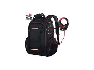 Travel Laptop Backpack for Men Fits up to 17 Inch Laptop RFID WaterResistant Computer Bookbag for Business College School