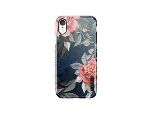 XR Case Vintage Floral Akna SiliTastic Series High Impact Silicon Cover with Full HD+ Graphics for XR 101675US