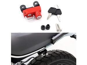Helmet Lock AntiTheft For Ducati Scrambler SixtyIconUrban Enduro 20152019Red