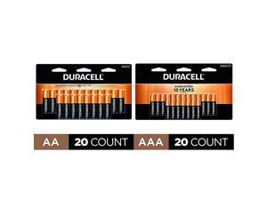 CopperTop AA + AAA Alkaline Batteries long lasting allpurpose Double A Triple A battery 20 Count
