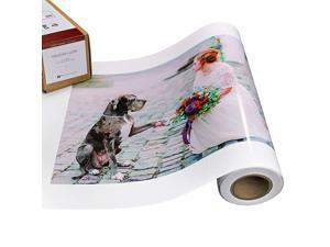 Luster Photo Printer Paper 10 mil 255 gsm Luster Finish Premium Photo Paper Roll on 3in Core 10 inches x 100 feet Works with Most Inkjet Printers Including Professional Makes and Models