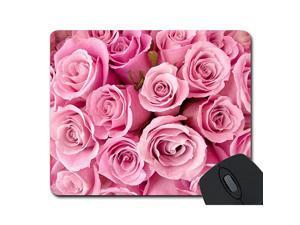 Rose Rectangle NonSlip Rubber Mouse Pad Mousepad Mat