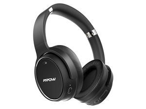 H19 Hybrid Noise Cancelling Headphones 100Hrs Wireless Headphones Over Ear Bluetooth 50 Headphones Deep Bass CVC 80 Mic Wired and Wireless Headset for Travel Home Office Online Class