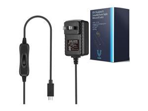 Raspberry Pi 4 Power Supply USBC with onOff Switch