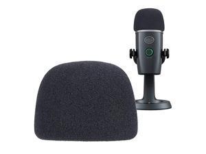 Yeti Nano Microphone Foam Windscreen Mic Wind Cover Pop Filter Foam Cover Professional Customized for Blue Yeti Nano