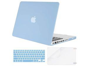 Plastic Hard Shell Case Keyboard Cover Screen Protector Only Compatible with Old Version MacBook Pro 13 inch A1278 with CDROM Release Early 20122011201020092008 Mint Green