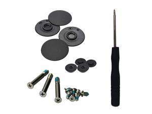 Case Rubber Feet Outer Inner Feet Case Screw for MacBook Pro A1278 A1286 A1297 13 15 17 Full Kit Set with Screwdriver