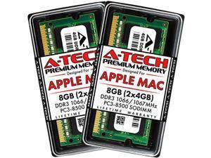 8GB Kit 2x4GB DDR3 1066MHz 1067MHz SODIMM PC38500 RAM for Apple MacBook MacBook Pro iMac Mac Mini Late 2008 EarlyMidLate 2009 Mid 2010