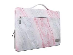 156 Inch Laptop Sleeve Case Fits 2019 MacBook Pro 16 inch MacBook Pro 154 Surface Book 15 inch Ultrabook Notebook Carrying Bag for 156 Dell Lenovo HP Acer Chromebook Pink Gray Marble