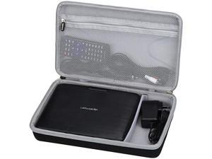 Hard Carrying Travel Case for APEMAN 9.5'' Portable DVD Player