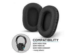 Perforated Earpads for Sony MDR 7506 V6 CD900ST with Memory Foam Ear Pad amp Suitable for Other On Ear Headphones