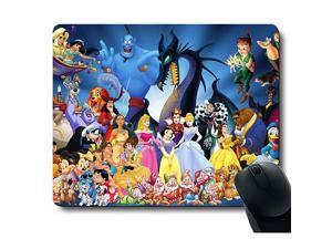 Classic Cute Character Colourful Pattern Unique Design Mouse Pad