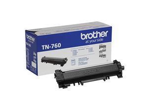 Genuine Cartridge TN760 High Yield Black Toner