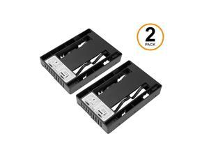 ToolLess 25quot SATA SSD HDD to 35quot SATA HDD Drive Bay Converter Mounting Bracket Kit Adapter EZConvert MB882SP1S3B Dual Two Units