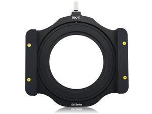 100mm Square Z Series Aluminum Modular Filter Holder + 72mm-77mm Aluminum Adapter Ring for Lee Hitech Singh-Ray Cokin Z PRO 4X4 4x5 4X5.65 Filter(72mm)
