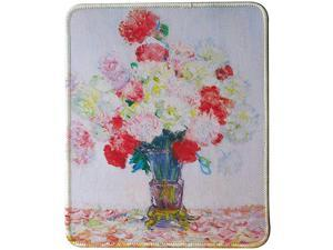 Claude Monet Paintings Mouse Pad Vase of Flower
