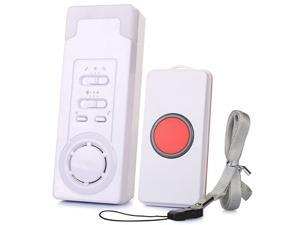 CaregiverCaregiver Smart Personal Pager System Emergency Care Alarm Call Button Nurse Alert System 500+ft Operating Range 1 in 1
