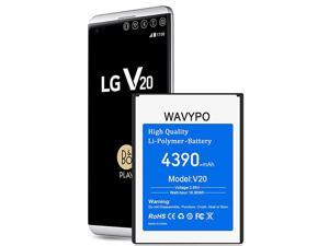 Upgraded  LG V20 Battery 4390mAh Replacement Battery LiPolymer for LG V20 BL44E1F H910 H918 VS995 LS997 US996 V20 Spare Battery 18 Months Service