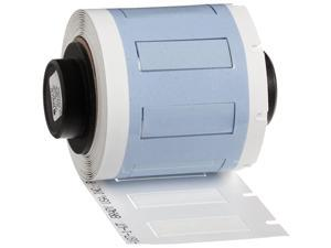 PermaSleeve HeatShrink Polyolefin Wire Marking Sleeves PSPT1871WT White Sleeves Compatible with BMP61 BMP71 TLS 2200 TLSPC LINK Label Makers 335 Height 1015 Width