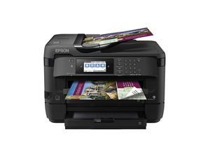 WorkForce WF7720 Wireless Wideformat Color Inkjet Printer with Copy Scan Fax WiFi Direct and Ethernet  Dash Replenishment Ready