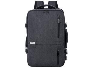 Laptop Backpack 35L Flight Approved Carry On Weekender Bag Backpack expandable with USB Charging Port Smart Organized