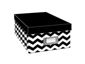 HeavyDuty PhotoVideo Storage Box Chevron Design