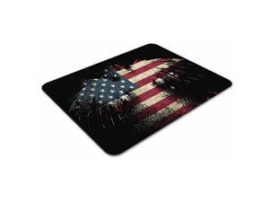 American Eagle Rectangle Mousepad Gaming Mouse Pad Rubber Oblong Mouse Mat95inchx79inch