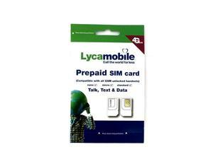 Triple Punch Standard Micro and Nano All in One SIM Card