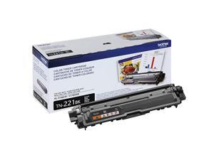 Genuine Standard Yield Toner Cartridge TN221BK Replacement Black Toner Page Yield Upto 2500 Pages  Dash Replenishment Cartridge TN221