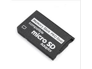 Micro SDHC to Memory Stick Pro Duo Cards Adapter for Sony PSP Camera and Others