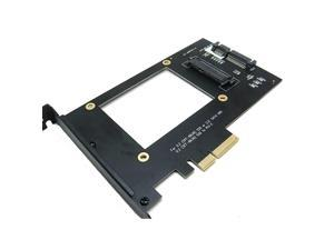 U2 SFF8639 NVMe SSD to PCIe 4X 30 Adapter for Intel 750P3500 3600