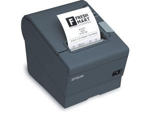 TM T88V Receipt Printer BW Thermal line Roll 315 in up to 7087 inchmin Serial USB