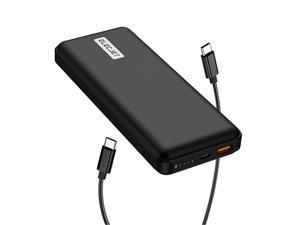 PowerPie 20000mAh USB C PD 45W Laptop Power Bank Super Fast Charging 20 PPS Battery Pack for Samsung Note 10 plusS20 UltraNote 20 Portable Charger External Battery for MacBook ProAir