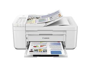 PIXMA TR4520 Wireless All in One Photo Printer with Mobile Printing White Works with Alexa