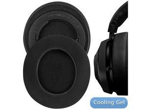Sport Cooling-Gel Replacement Ear Pads for Razer Kraken Pro V2, Kraken 7.1 V2, Stormtrooper/Pewdiepie Edition Headphones Earpads, Ear Cushion, Ear Cups, Headset Ear Cover (Black)