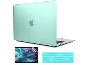 Case for MacBook Pro 16 inch 2019 Hard Shell Case Keyboard Cover Screen Protector Dust Plug for MacBook Pro 16 A2141 Green