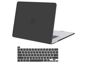 Compatible with MacBook Pro 16 inch Case 2020 2019 Release A2141 with Touch Bar Touch ID Ultra Slim Protective Plastic Hard Shell Case Keyboard Cover Skin Space Gray