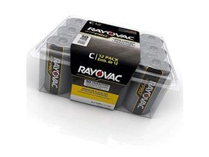Industrial Alkaline Battery C Size Standard Black Pack of 12 Limited Edition